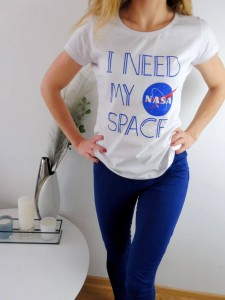 "Damska piżama Nasa"" I Need My Space''"