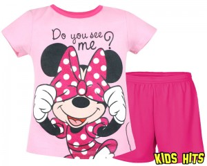 "Piżama Myszka Minnie ""Do you see me?""  8 lat"